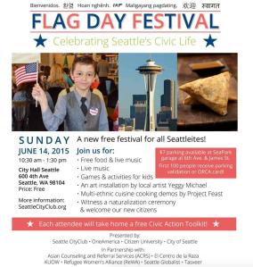 Flag Day Festival 2015